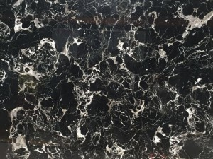 Marble Black Ice Flower
