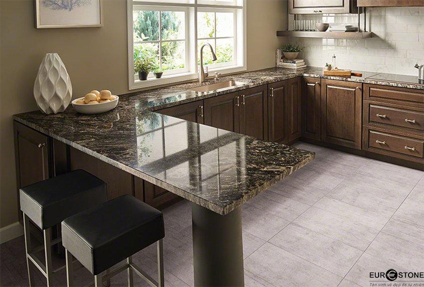 Lời khuyên khi lựa chọn màu sắc đá cho mặt bếp