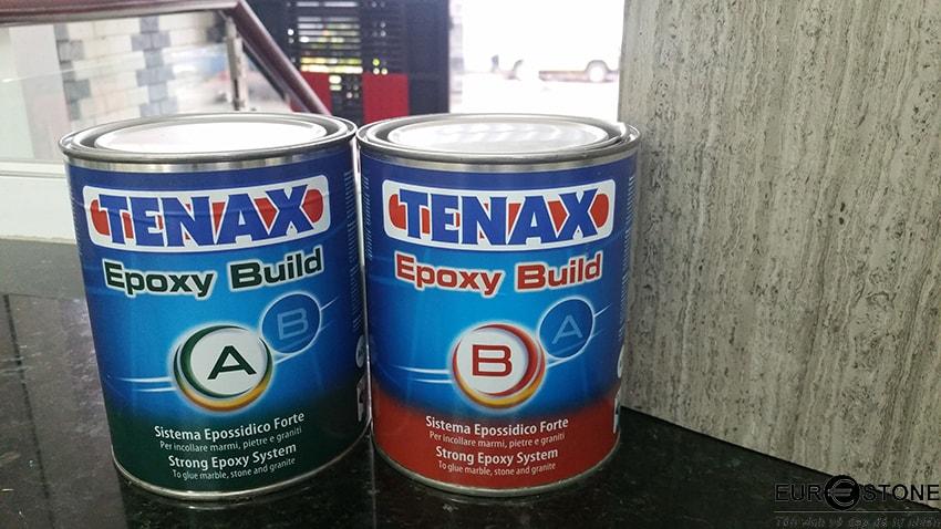 Keo epoxy cùng chất lượng thi công đá tự nhiên