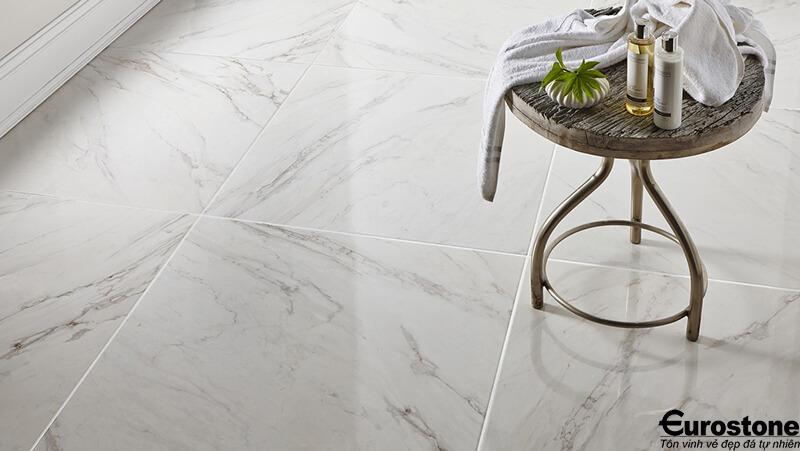 Phương pháp xử lí bề mặt đá marble lát nền