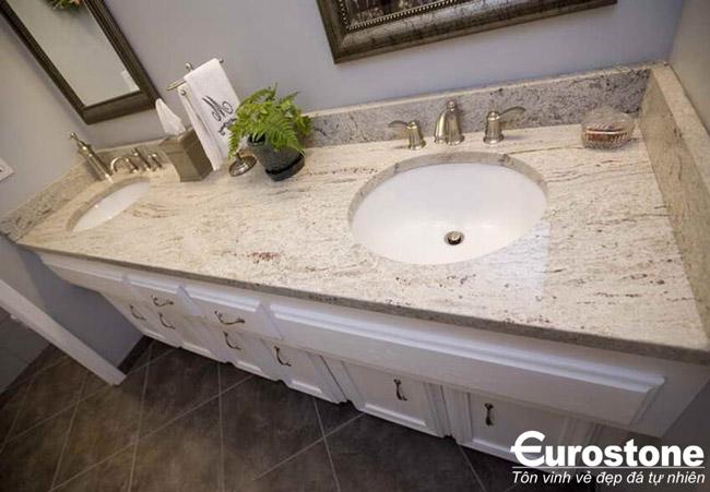 Mẫu bàn đá lavabo cho không gian phòng tắm 2019