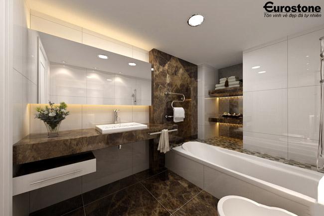 Lựa chọn Đá ốp nhà tắm mẫu 2018 đẹp và sang trọng