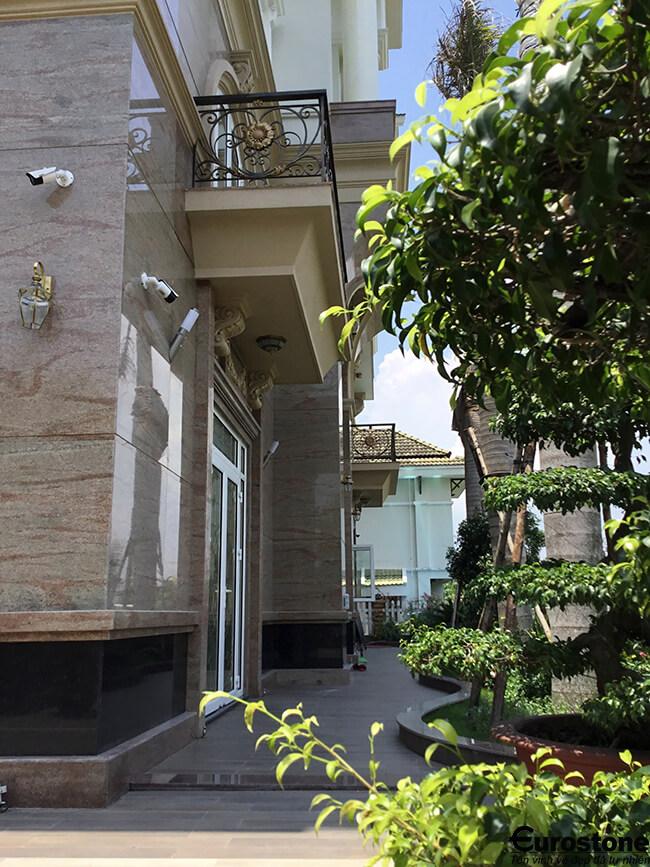 đá ốp mặt tiền nhà
