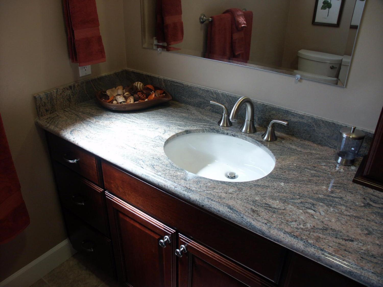 Bàn lavabo Đá Granite Paradiso Bash (Tím Sa Mạc)