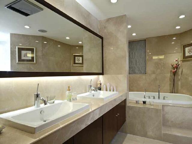 Đá Marble (Cẩm Thạch) Burdur beige ốp nhà tắm