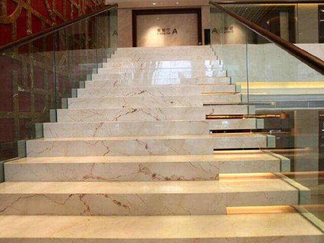 Đá Marble (Cẩm Thạch) Tự Nhiên Sofitan ốp cầu thang