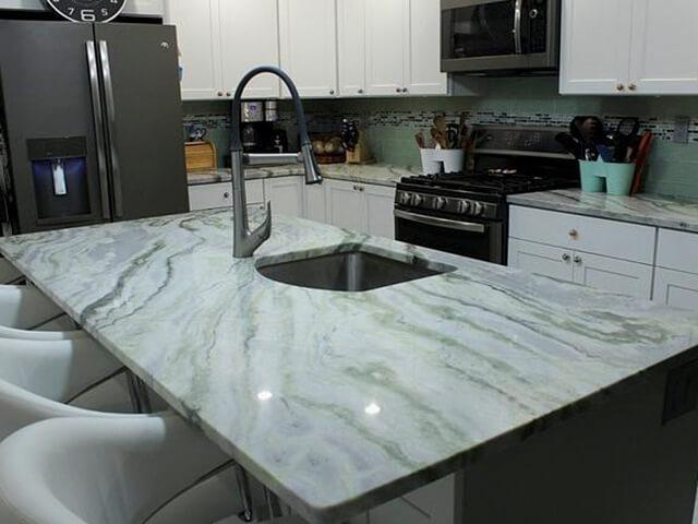 Đá Marble Himalayan Onyx ốp bếp