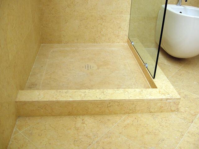 Đá Marble (Cẩm Thạch) Sunny Beige ốp phòng tắm