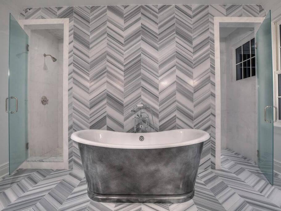 Đá Marble (Cẩm Thạch) Marmara ốp phòng tắm