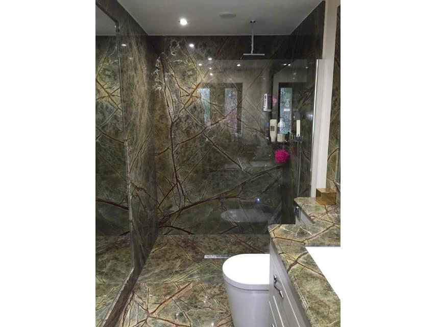 Kết quả hình ảnh cho mẫu ĐÁ Rain Forest Green