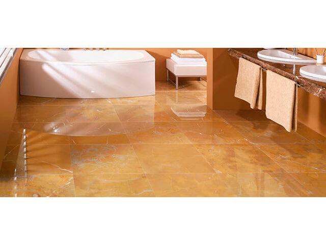 Đá Marble (Cẩm Thạch) Spanish Gold ốp phòng tắm