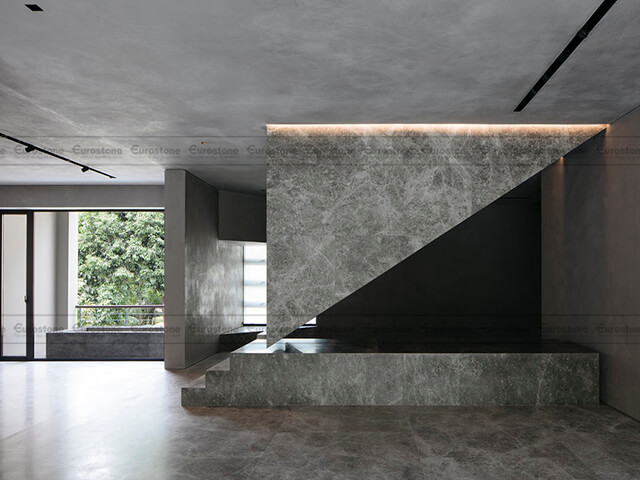 Đá Marble Tundra Grey ốp tường