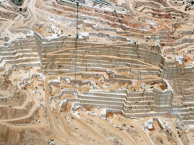 mỏ Đá Marble Crema Marfil