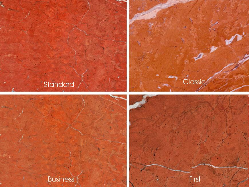 mặt hoàn thiện Đá Marble (Cẩm Thạch) Rojo Alicante