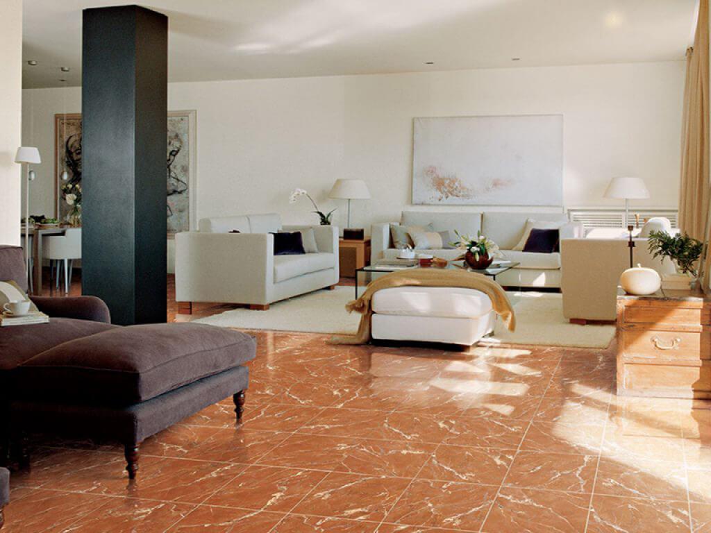 Đá Marble (Cẩm Thạch) Rojo Alicante lát nền