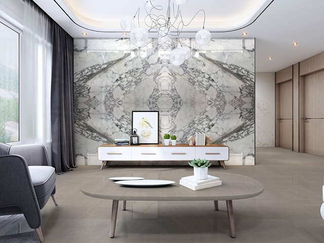 tranh Đá Marble Arabescato