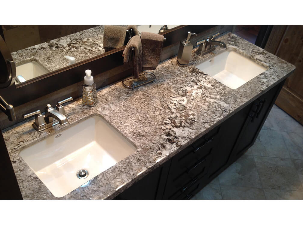 bàn lavabo Đá Granite Bianco Antico