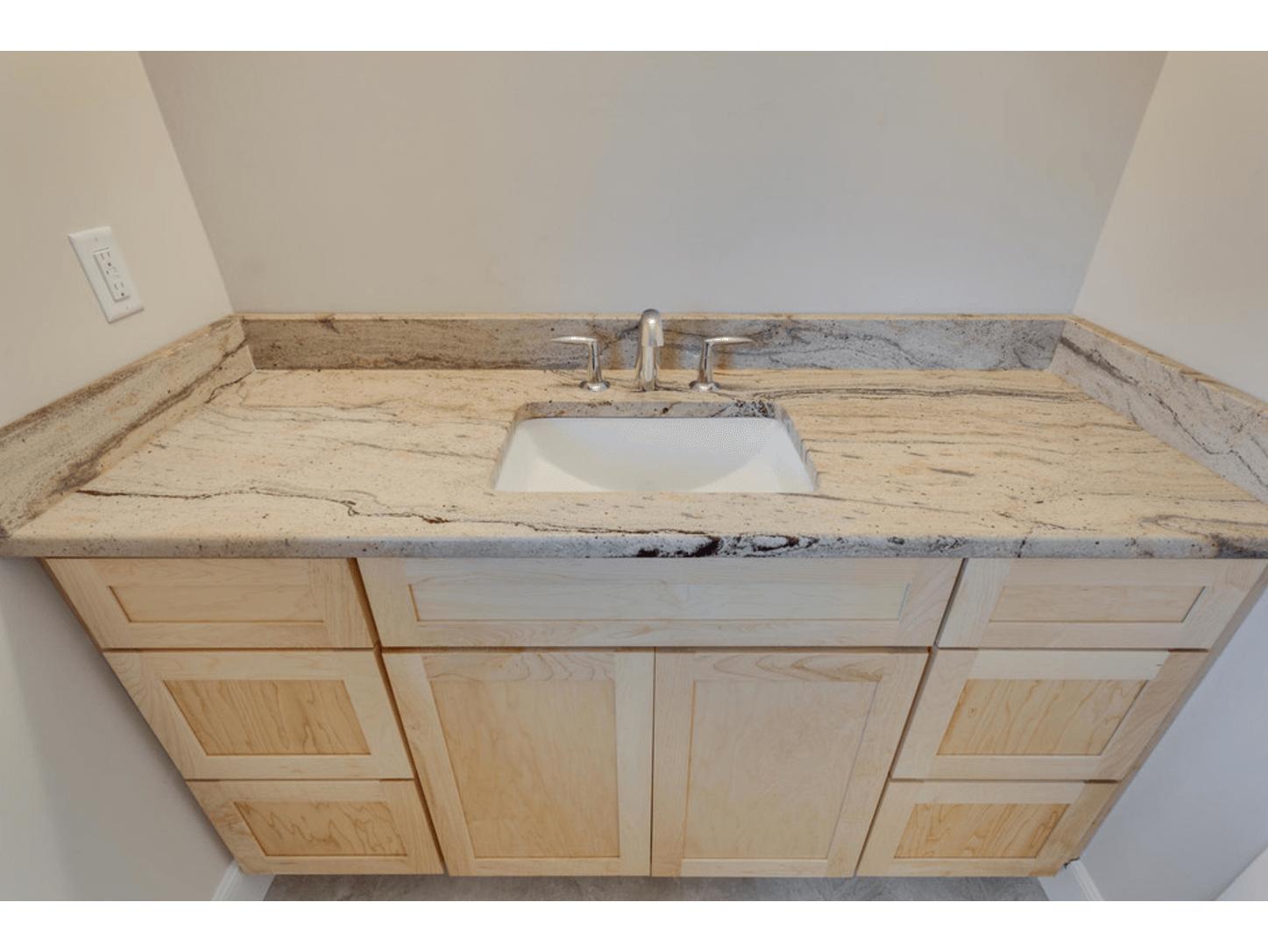 bàn lavabo Đá Tự Nhiên Granite Prada Gold