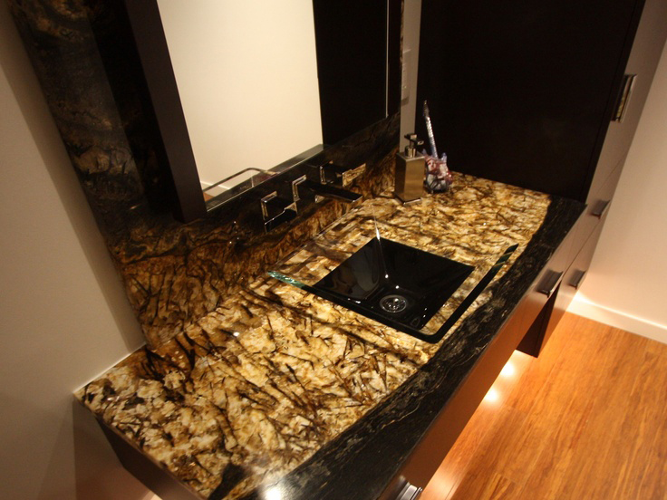 bàn lavabo Đá Granite Splendor Gold