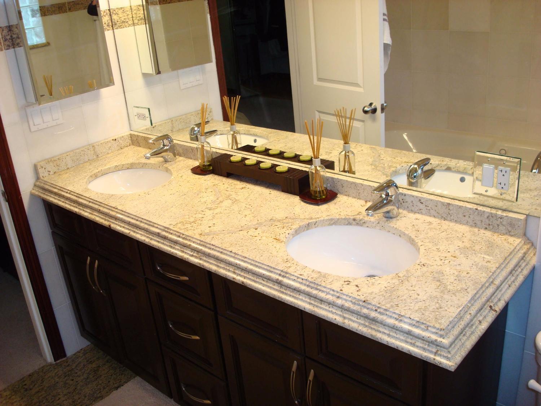 bàn lavabo Đá Granite Tự Nhiên Colonial Gold