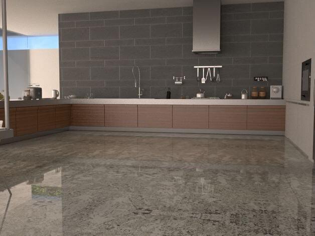 Đá Granite Bianco Antico lát nền