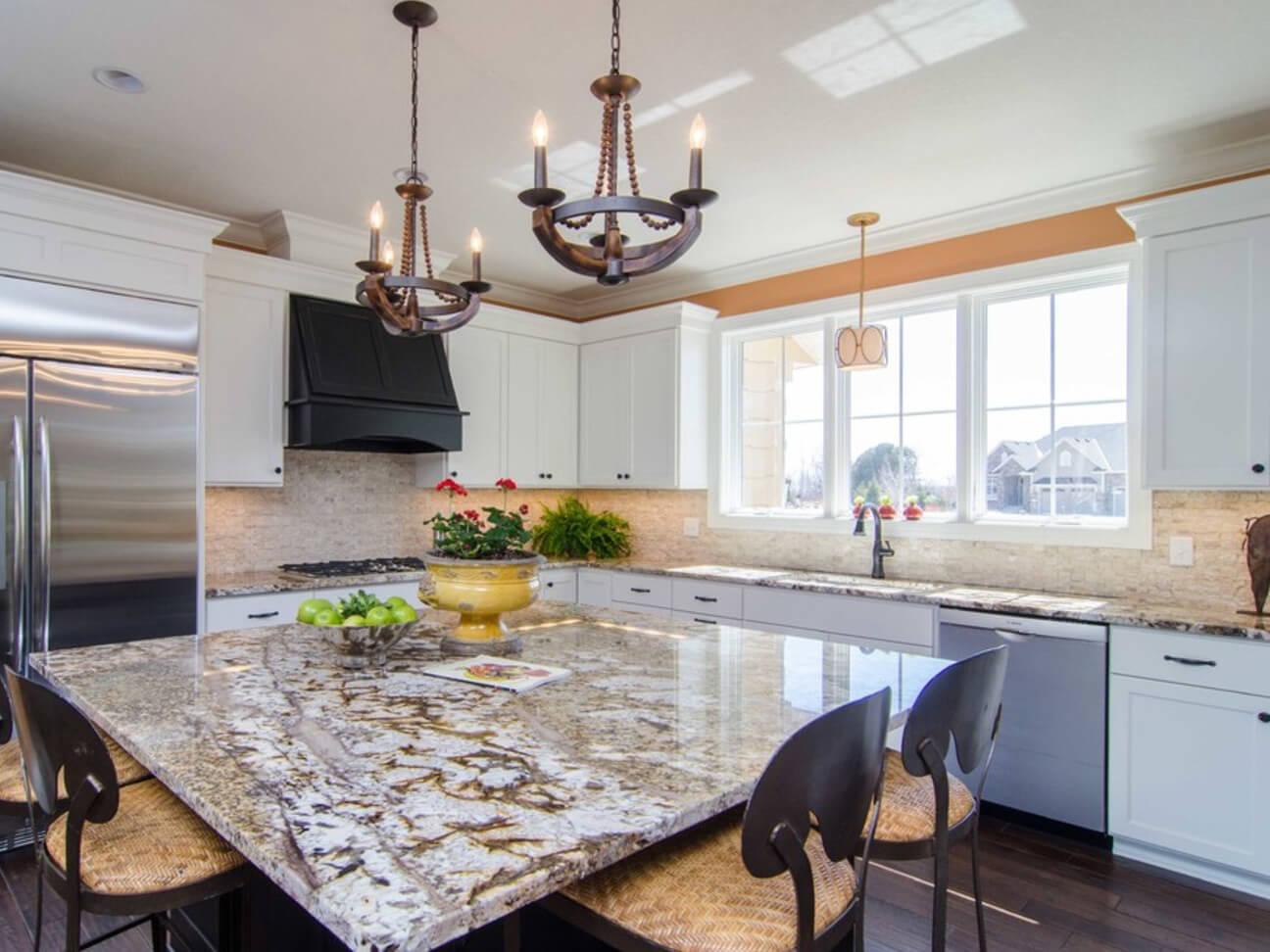 Đá Granite Tự nhiên Normandy ốp bếp
