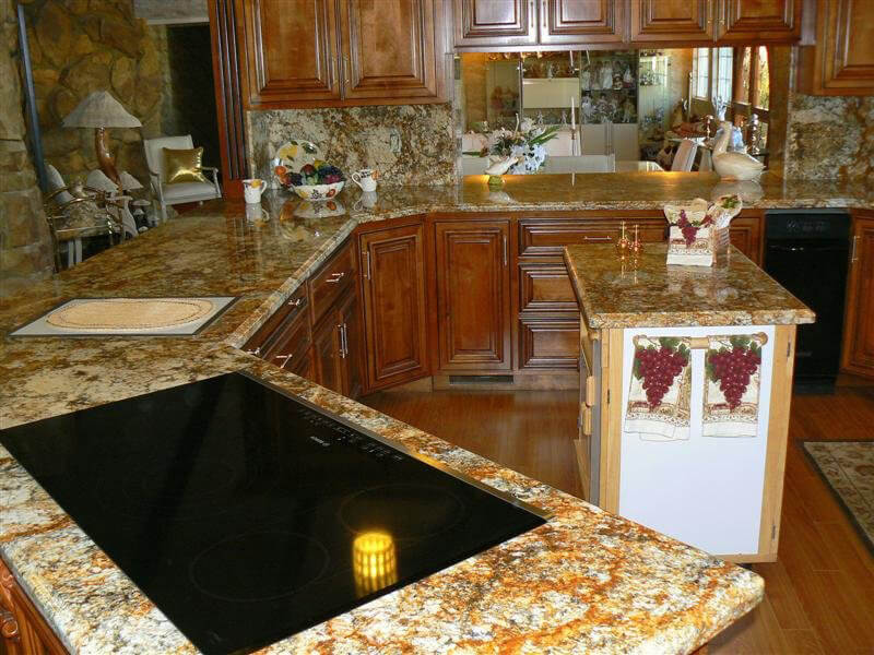 Đá Tự Nhiên Granite Mascarello ốp bếp