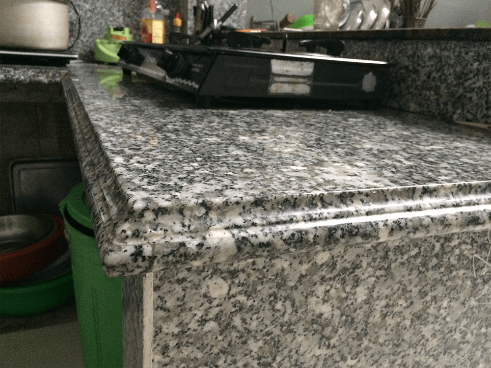 Đá Granite Trắng Suối Lau ốp bếp