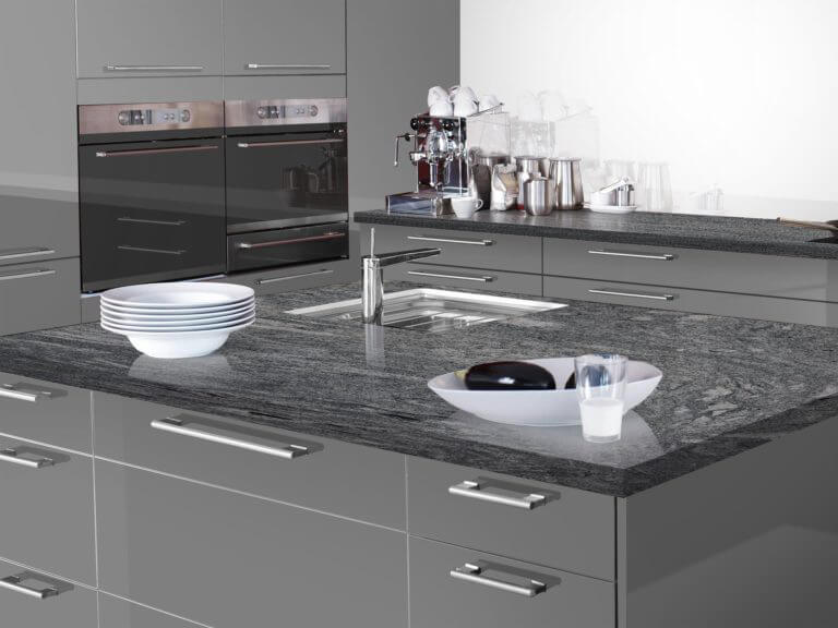 Đá Granite KP Green ốp bếp