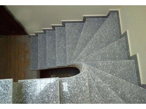 Đá cầu thang Granite Trắng Suối Lau