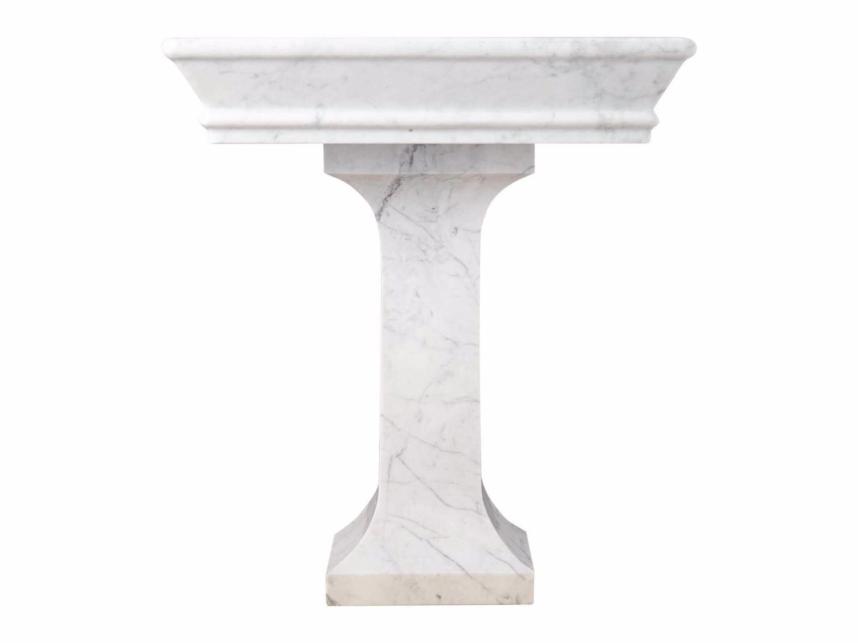 Đá Marble 'Cẩm Thạch' Carrara ốp cột