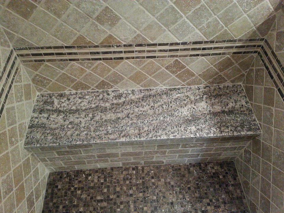 Đá Granite Bianco Torrichino ốp nhà tắm