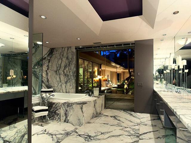 Đá Marble (Cẩm Thạch) Milas Lilac ốp nhà tắm
