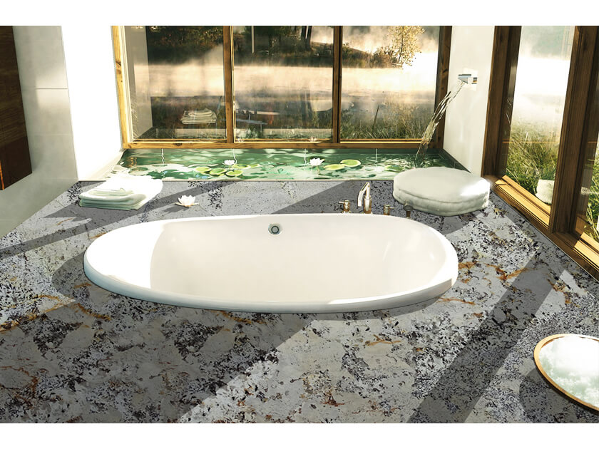 Đá Granite Tự Nhiên Torrone - Brazil ốp phòng tắm