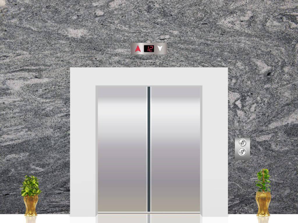 Đá Granite KP Green ốp thang máy