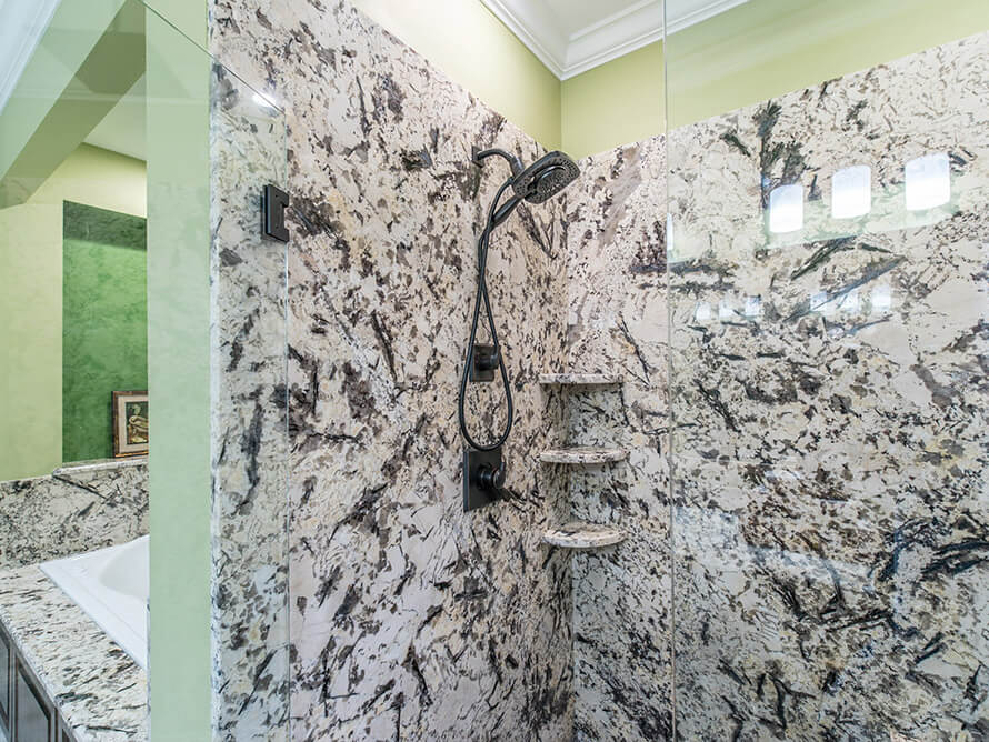 Đá Granite Delicatus White ốp tường