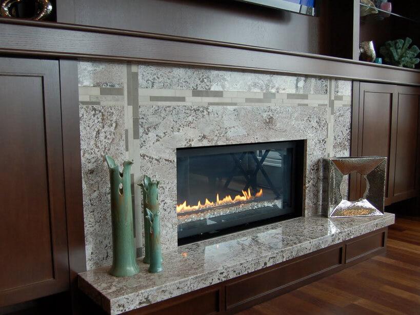 Đá Granite Bianco Antico ốp tường