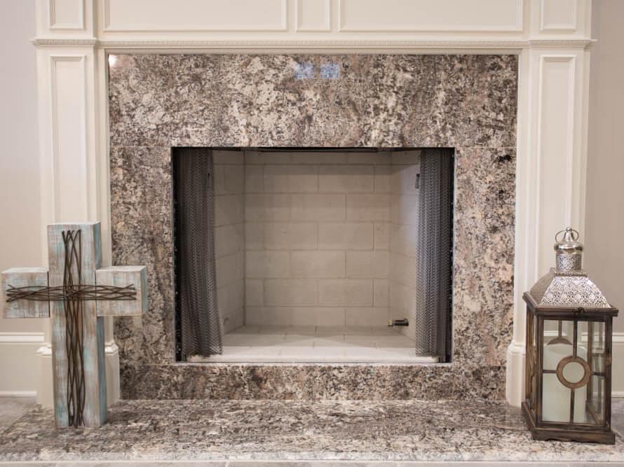 Đá Granite Bianco Torrichino ốp tường