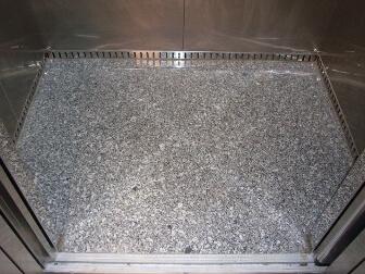 Đá Granite Trắng Bình Định lát nền thang máy