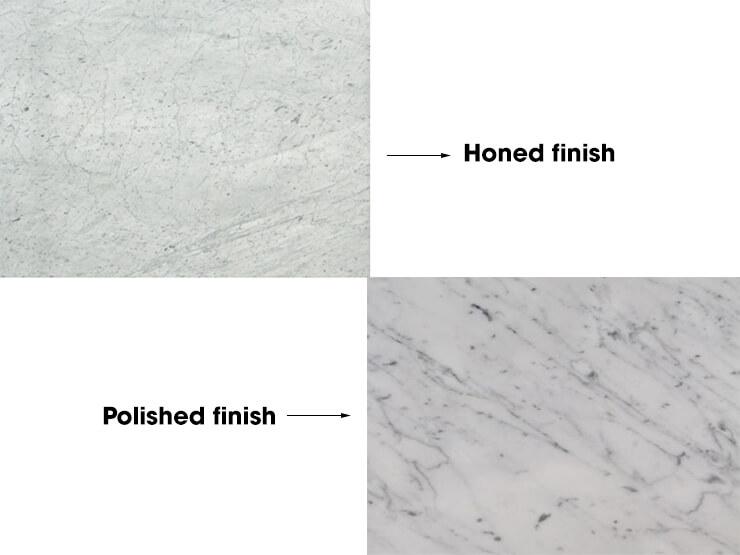 Mặt hoàn thiện Đá Marble 'Cẩm Thạch' Carrara