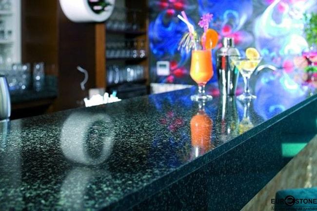 mặt bàn Đá hoa cương Hassan Green