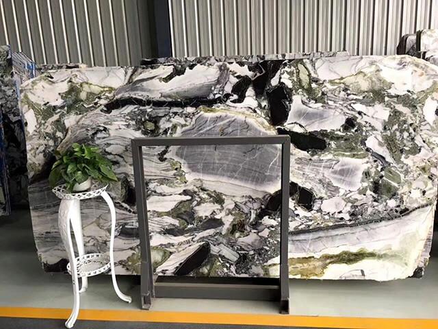 Đá Marble (Cẩm Thạch) Ice Green