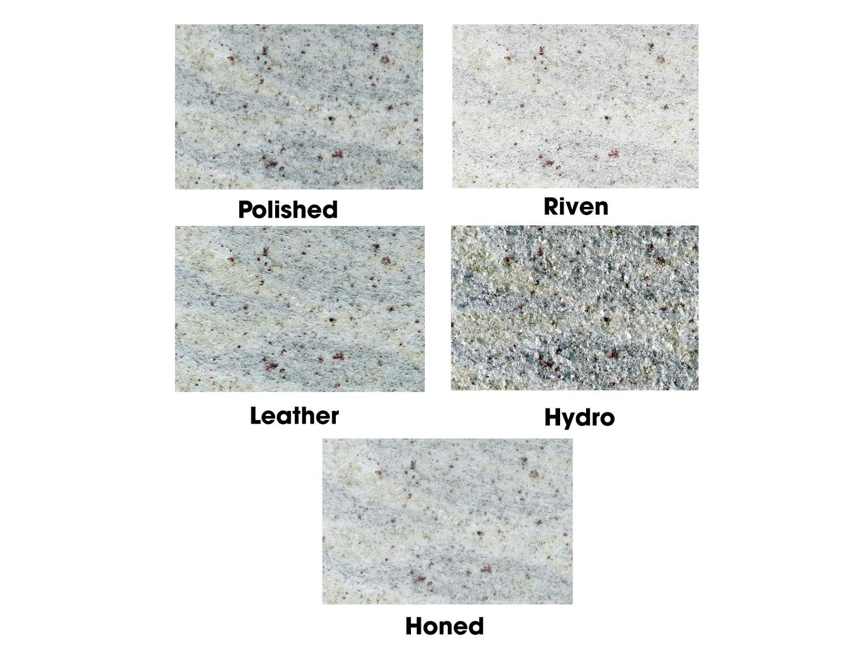 Mặt hoàn thiện Đá Granite Trắng Ấn Độ Kashmir