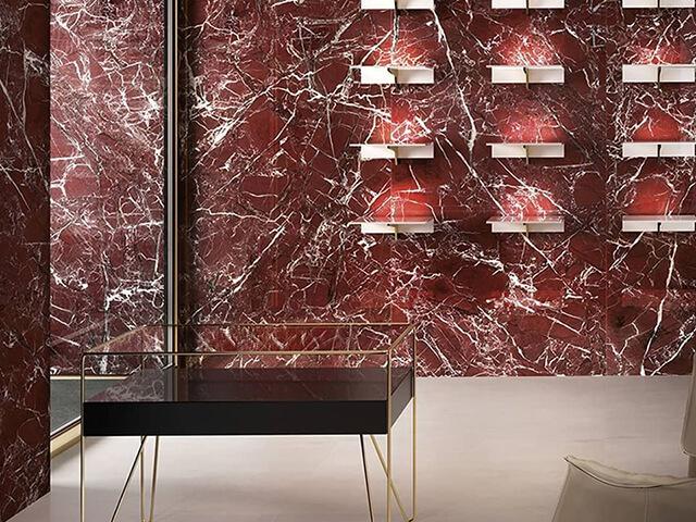 Đá Marble Rosso Levanto New ốp tường