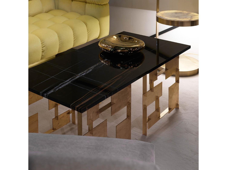 Bàn sofa mặt đá kiểu dáng độc đáo 0010