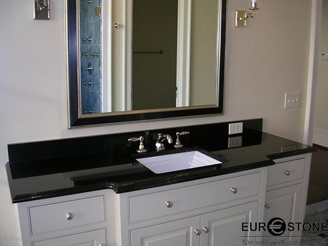 bàn lavabo Đá Granite Absalute Black