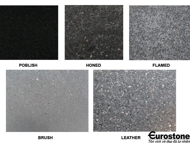 Đá Granite(Kim Sa Trung) Black Galaxy