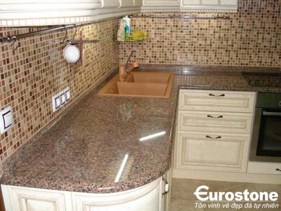 Đá Granite(nâu Anh Quốc) Tan Brown