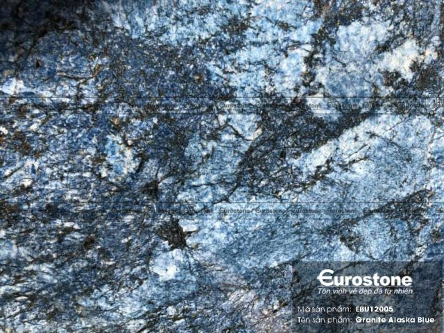 Đá tự nhiên Granite Alaska Blue
