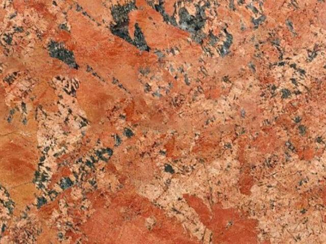 Đá Granite Alaska Red